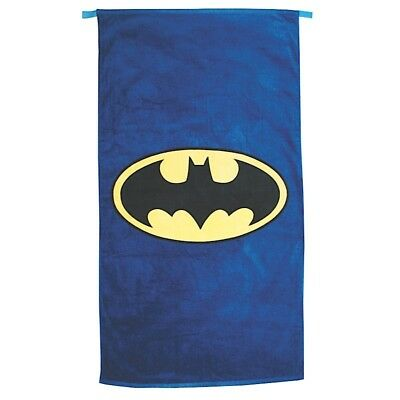 Official Batman Logo Dc Comics Cape Bath Beach Towel New With Tags 2