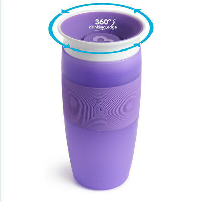 Munchkin Miracle Trainer Cup Decor 360 Sippy Cup Anti Spill Baby Cup New 2019 11