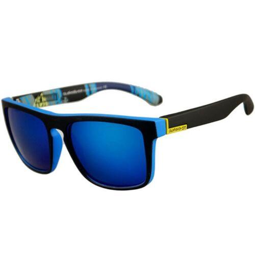 Fashion Square Frame Sunglasses for Men Driving Outdoor Sports Fishing Eyewear 8