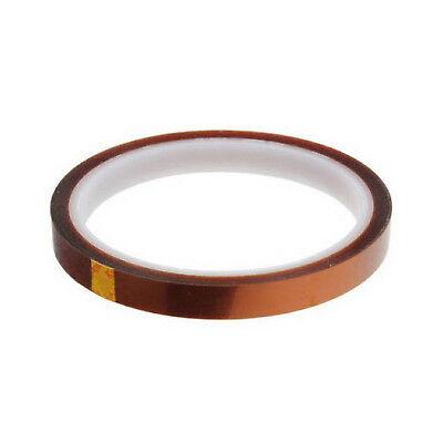 10mm 100ft BGA High Temperature Heat Resistant Polyimide Gold Kapton Tape BAF 5