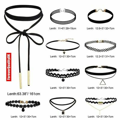 Fashion Women Full Diamond Crystal Rhinestone Choker Necklace Wedding Jewellery 11