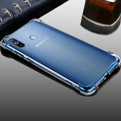 Shockproof Case For Samsung Galaxy A70 A50 A40 A30 A20 A10 Clear Silicone Cover 2