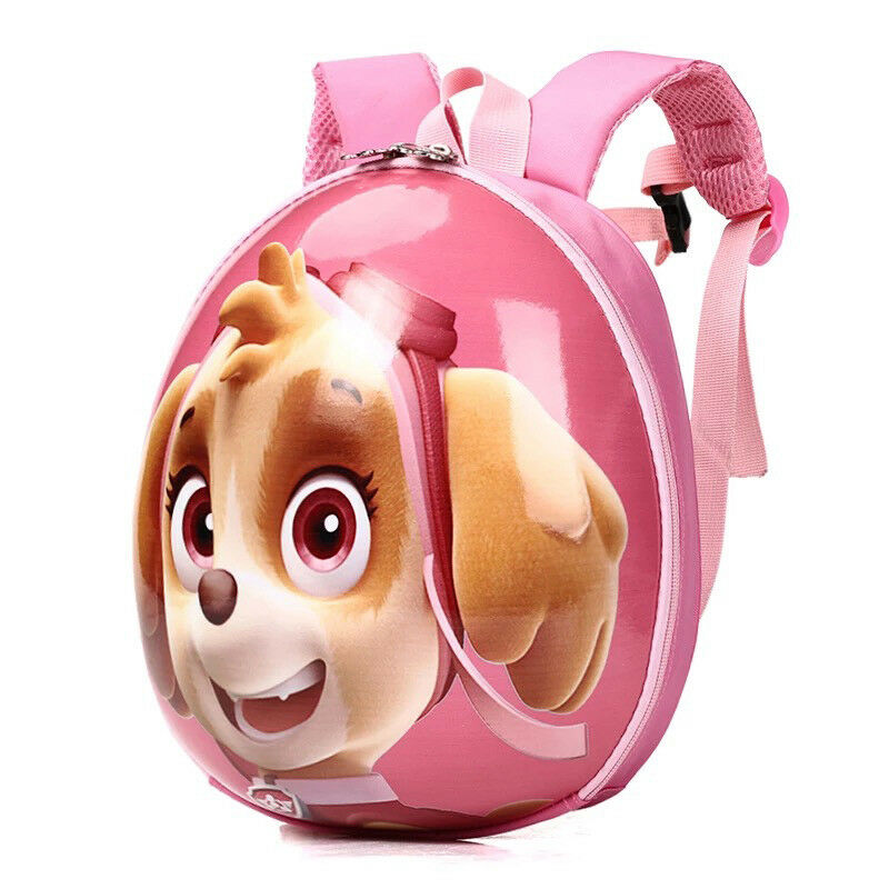 "12/"" Puppy Paw Patrol Backpack For Boys School Cartoon Bag Kindergarten Kids"