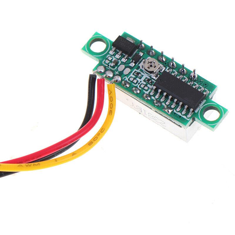 0.28 inch DC 0-100V 3-WireGauge voltage meter Voltmeter With LED Display DigitDR 5