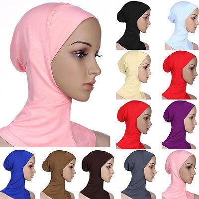 Cotone Mussulmano Copricapo Hijab Interna Cappellini Islamico Scaldacollo Ninja 3