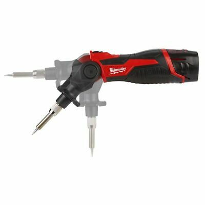 Milwaukee M12SI 12V Cordless Soldering Iron + Pocket Tape Measures 8M/26ft 3Pc 3