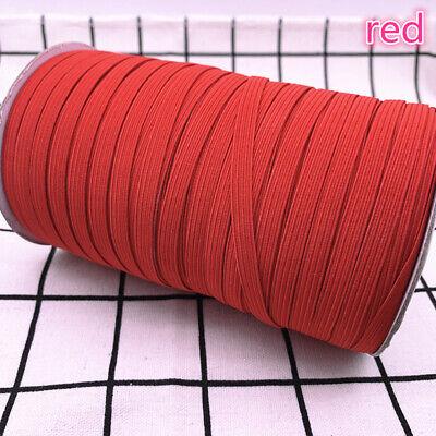 5yds 6mm Hight Elastic Bands Spool Sewing Band Flat Elastic Cord diy Sewmaterial 5