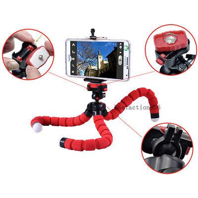 Portable Mini Flexible Foam Tripod Octopus Stand For DSLR SLR Camera Cell Phone