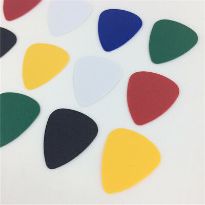 Lot 100X Acoustic Electric Bass Ukulele Guitar Picks 0.46mm Thickness 2