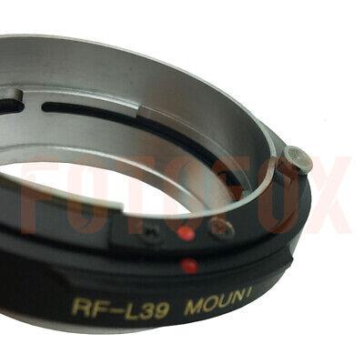 FOTOFOX RF-L39 Contax Rangefinder CRF RF Lens to Leica Mount SM M39 L39 Adapter 6