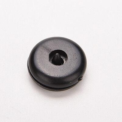 4 Set di clip per cintura di sicurezza nera con fibbia di sicurezza PQ