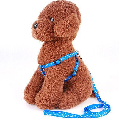 Cat Dog Collar Harness Leash Adjustable Nylon Halter Collar For Pet Harness Belt 6