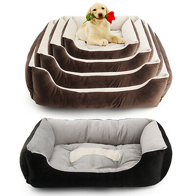 Heavy Duty Pet Bed Mattress Dog Cat Pad Mat Cushion Extra Large Medium Small NEW 2
