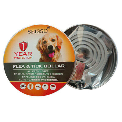 DEWEL Seisso Flea And Tick Control Collar for Medium Large Dog 1 Year Protection 3