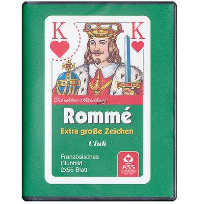Spiele von Frobis 4 Romme Club große Eckzeichen Kartenspiele Französisches Bild