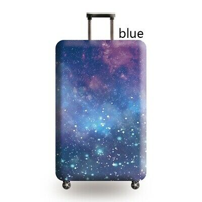 Travel Luggage Cover Galaxy Starry Elastic Anti-Scratch Suitcase Dust Protector 9