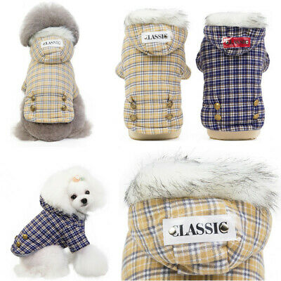 2019 New Puppy Pet Dog Clothes Hoodie Winter Warm Sweater Coat Costumes Apparel 10