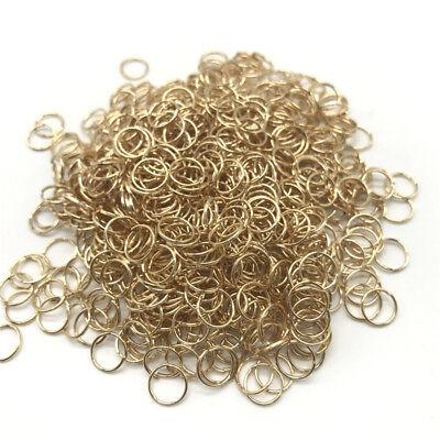 4/6/8/10mm Metal Open Jump Rings Split Rings Connectors For DIY Jewelry Making 7