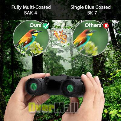 10X25 Binoculars with Night Vision BAK4 Prism High Power Waterproof 2