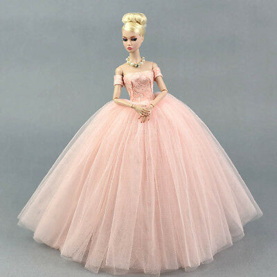 """Doll Dress Costume Elegant Lady Wedding Dress For 11.5"""" Doll Clothes Outfits Toy 6"""