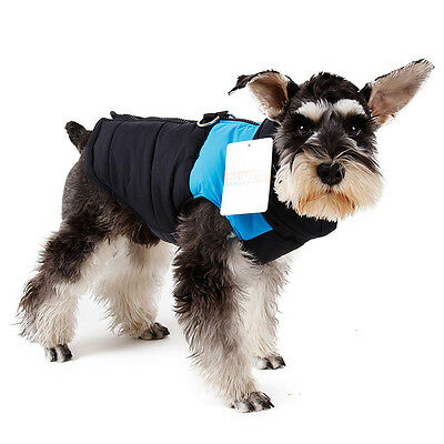 Pet Dog Vest Clothes Small Puppy Dogs Winter Warm Waterproof Jacket Coat Apparel 7