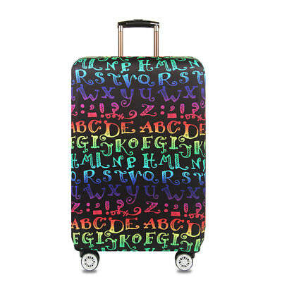 """18""""-32"""" Luggage Suitcase Elastic Protective Travel Dustproof Protector Cover Bag 4"""