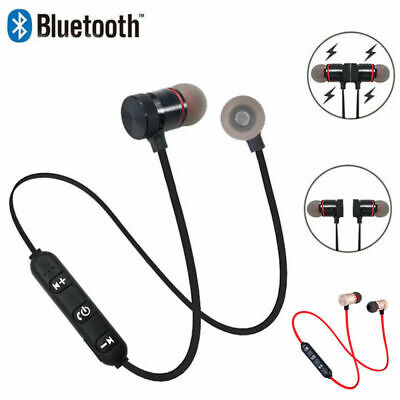 Bluetooth Headphones Magnetic Wireless Stereo Earphones for iPhone Samsung HTC 7