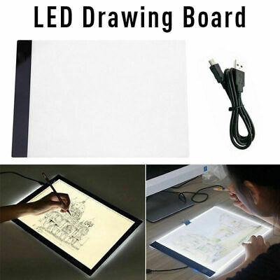 A4 LED Luz de trazado de Mesa Dibujo Plantilla Caja de artesanal artista tatuaje 3