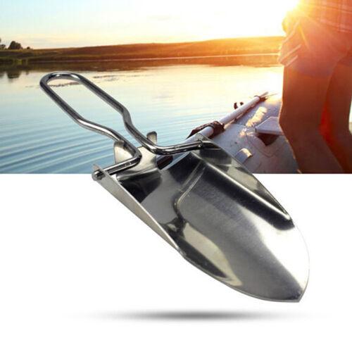 multi-funcional mini pala plegable supervivencia Spade pesca de emergencia 3