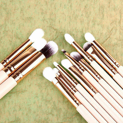 12x Pro Makeup Brushes Set Foundation Powder Eyeshadow Eyeliner Lip Brush Tool 2