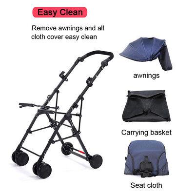 Lightweight Compact Fold Baby Stroller Pram Pushchair Travel 10