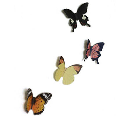 2 Of 9 15X DIY 3D Butterfly Wall Stickers Art Decal Paper Butterflies Home  Decor EW