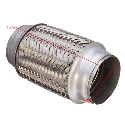 4 of 6 Exhaust Flex Pipe Stainless Steel 2.5u0027u0027 x 6u0027u0027 Weld On Flexible Joint  sc 1 st  PicClick CA & EXHAUST FLEX PIPE Stainless Steel 2.5u0027u0027 x 6u0027u0027 Weld On Flexible Joint ...