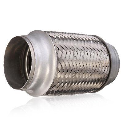 1 of 6 Exhaust Flex Pipe Stainless Steel 2.5u0027u0027 x 6u0027u0027 Weld On Flexible Joint  sc 1 st  PicClick CA & EXHAUST FLEX PIPE Stainless Steel 2.5u0027u0027 x 6u0027u0027 Weld On Flexible Joint ...