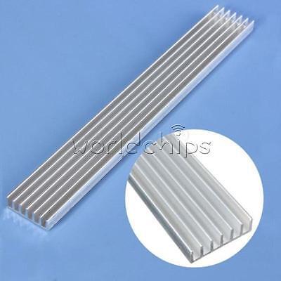 1 Of 5 150x20x6mm Long Heatsink Aluminum Heat Sink For LED Power Amplifier  PCB