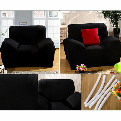 1 Of 12 L Shape Stretch Elastic Fabric Sofa Cover Sectional Corner Couch  Covers GIFT
