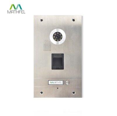 Fingerprint Video Türsprechanlage mit 7″ Monitor (weiß) und WLAN 2