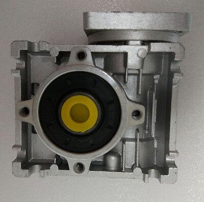 NMRV50 Worm gear reducer Reduction ratio 5:1 to 100:1 for NEMA42 stepping motor 3