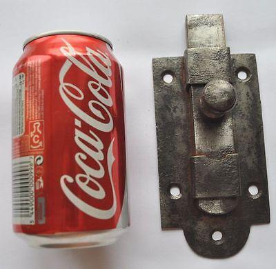 1900s Imperial Russia Interesting Solid Metal Slide Door Lock NICE 6