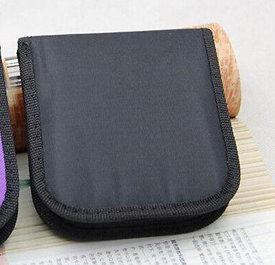 Mini Home Black Travel Thread Threader Needle Tape Measure Scissor Sewing Kit
