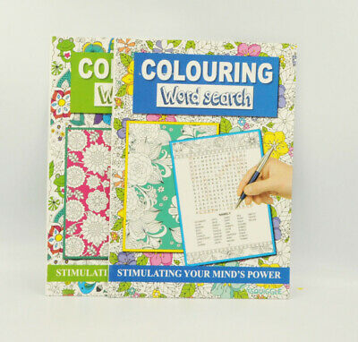 A4 Size Adult Colouring Book Thearpy Stress Relieving Modern Pattern And Designs 4