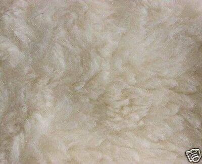 PRAM SEAT LINER GOOSEBERRY Natural Lambs Wool Universal Machine Washable Black 7