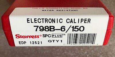 "STARRETT # 798B-6//150 Electronic Caliper 0-6/"" Stainless Steel W// SPC  USA"