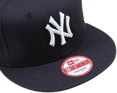 New Era Mens 9Fifty Baseball Cap.new York Yankees Navy Flat Peak Snapback Hat 53 2