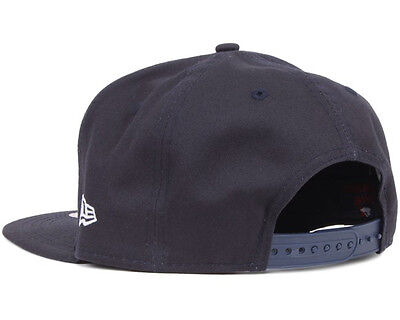 New Era Mens 9Fifty Baseball Cap.new York Yankees Navy Flat Peak Snapback Hat 53 3