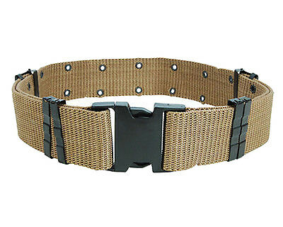 Men Adjustable Survival Army Military Tactical Belts Heavy Duty Combat Waistband 4