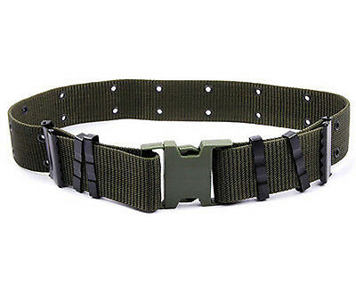 Men Adjustable Survival Army Military Tactical Belts Heavy Duty Combat Waistband 3