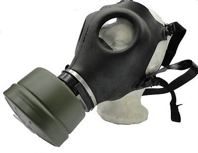 Kyng Tactical Israeli Respirator Gas Mask w/Military Sealed 40mm NATO Filter NBC
