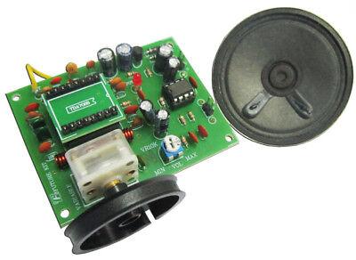 FM Radio Un-Assembled Circuit Kit 88-108MHz TDA7088 with amplifier