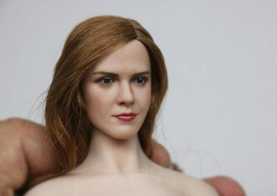 1//6 Monica Bellucci Head Sculpt For Hot Toys Phicen Female Figure ❶USA❶